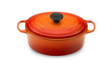 Le Creuset Signature Cast Iron 3½-quart Oval Dutch Ovens