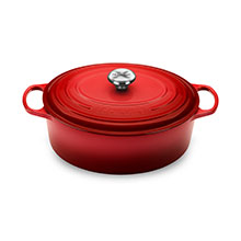 Le Creuset Signature Cast Iron 6¾-quart Oval Dutch Ovens