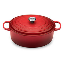 Le Creuset Signature Cast Iron 9½-quart Oval Dutch Ovens