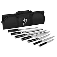 Shun Classic Knife Roll Set