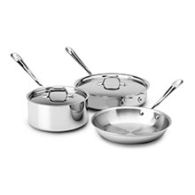 All-Clad Stainless Starter Cookware Set