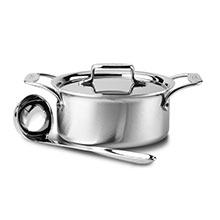All-Clad d5 Brushed Stainless Soup Pot with Ladle