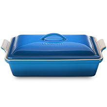 Le Creuset Stoneware 4-quart Heritage Covered Rectangular Dish