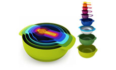 Joseph Joseph 9-piece Nesting Compact Food Preparation Set