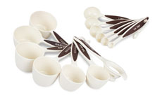 Plastic Measuring Cups & Spoons Set