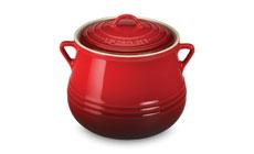 Le Creuset Stoneware 4½-quart Heritage Bean Pots