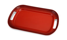 Le Creuset Stoneware Cherry Red Serving Platters
