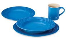 Le Creuset Stoneware 4-piece Dinnerware Set