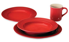 Le Creuset Stoneware 4-piece Dinnerware Sets