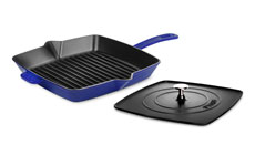 Staub 12-inch Square Grill Pan & Panini Press