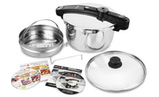 Fagor Chef Stainless Steel Pressure Cookers