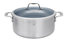 Zwilling J.A. Henckels Spirit Stainless Steel Ceramic Nonstick Stock Pot