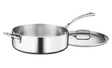 Cuisinart French Classic Stainless Saute Pan with Helper Handle