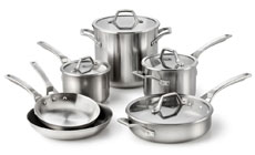 Calphalon AccuCore Stainless Steel Cookware Set