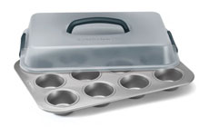 Calphalon Nonstick Cupcake Pan with Lid
