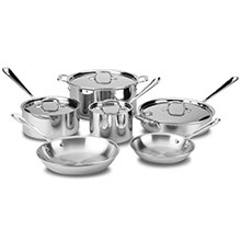 All-Clad Stainless Cookware Set