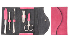 Wusthof 6-piece Stainless Steel Women's Manicure Set