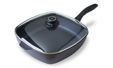 Swiss Diamond Nonstick Induction Square Saute Pan