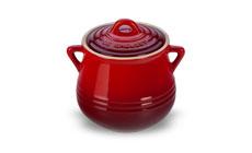 Le Creuset Stoneware 20-ounce Heritage Mini Bean Pots