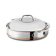 All-Clad Copper Core Sauteuse Pan