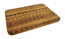 Madeira Teak End Grain Cutting Board