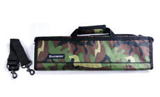 Messermeister 8-pocket Deluxe Print Padded Knife Roll