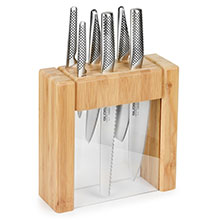 Global Ikasu Knife Block Set