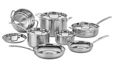 Cuisinart MultiClad Pro Stainless Steel Premier Cookware Set