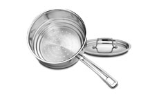 Cuisinart MultiClad Pro Stainless Steel Steamer Insert with Lid