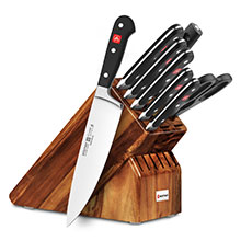 Wusthof Classic 9-piece Knife Block Sets