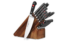Wusthof Classic 15-piece Knife Block Sets with Forged Steak Knives