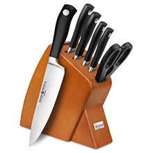 Wusthof Grand Prix II 7-piece Slim Knife Block Sets