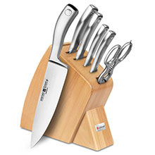 Wusthof Culinar PEtec 7-piece Slim Knife Block Sets