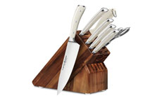 Wusthof Classic Ikon Creme 8-piece Knife Block Sets