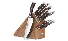 Wusthof Ikon Blackwood 16-piece Premier Knife Block Sets