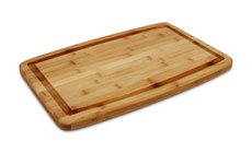 Cutlery and More Bamboo Carving Board with Groove