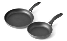 Swiss Diamond Nonstick Induction Skillet Set