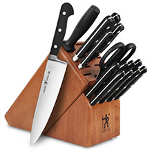 Henckels International Classic Knife Block Set with Stamped Steak Knives