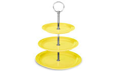 Le Creuset Stoneware  Three Tiered Stand