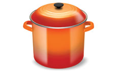 Le Creuset Enameled Steel 20-quart Stock Pots