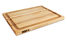John Boos Maple Edge Grain Cutting Board with Groove
