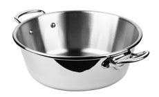 Mauviel M'cook Stainless Steel Jam Pan