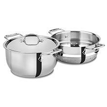 All-Clad Stainless Steel Steaming Pot