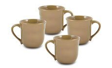 Emile Henry HR 4-piece Traditional Mug Sets