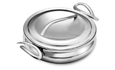 Nambe CookServ Stainless Steel Saute Pan