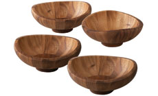 Nambe Butterfly Individual Salad Bowl Set