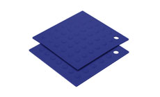 2-piece Silicone Pot Holder/Trivet Sets