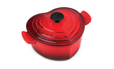 Le Creuset Cast Iron 2-quart Heart Casserole