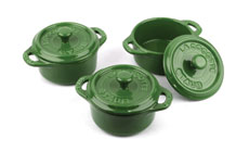 Staub Ceramic 3-piece Mini Cocotte Set
