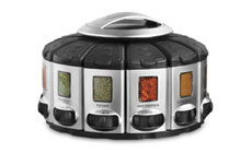 KitchenArt Select-a-Spice Auto Measure Carousel